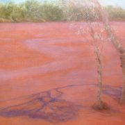 River Flowing, oil on canvas by Sue Helmot Artist