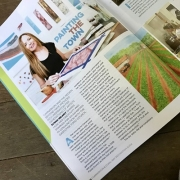 Sue Helmot Artist feature article in the Carnarvon and Coral Bay Destination Magazine