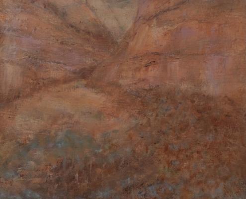Walking-in-Kennedy-Range-Sue-Helmot-Artist