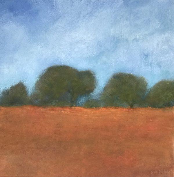 Autumn Outback Sue Helmot Australian landscape painter Outback Western Australia
