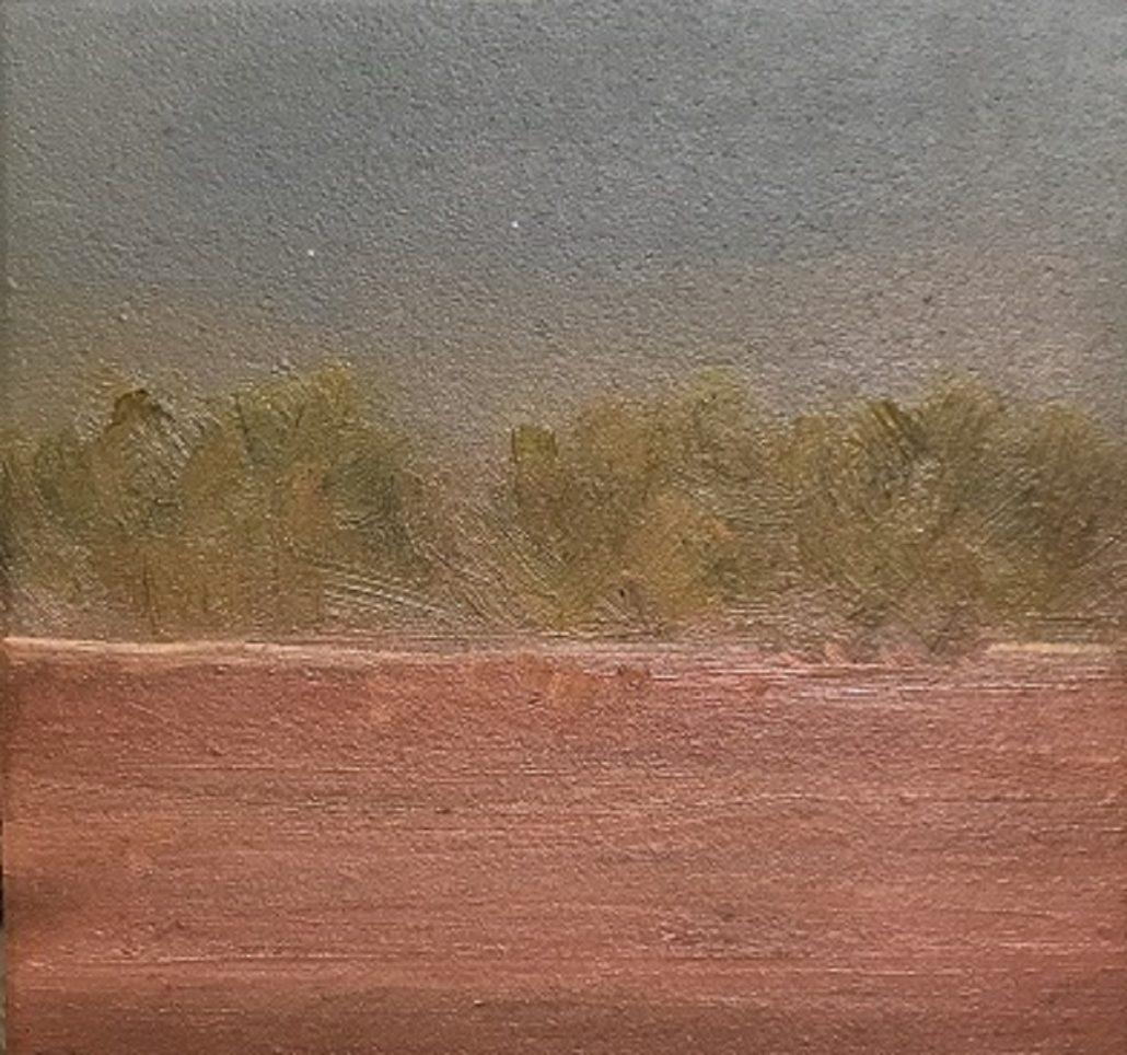 Outback Australia Landscape painting Sue Helmot