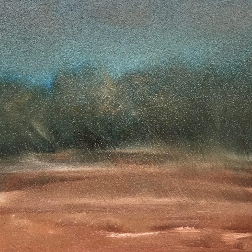 Dusty Outback Sue Helmot Australian landscape painter