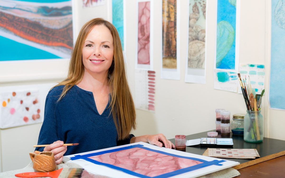Sue Helmot Australian contemporary artist